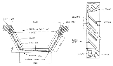 Searched term bay window detail images frompo for Bay window construction details